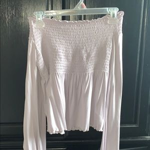 AE Off the shoulder blouse